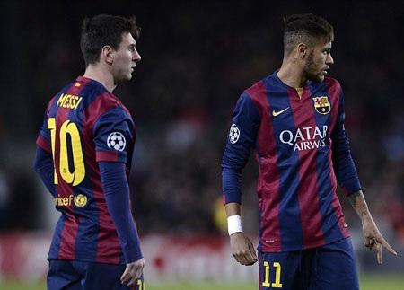 ...vì Barca có Messi-Neymar quá xuất sắc