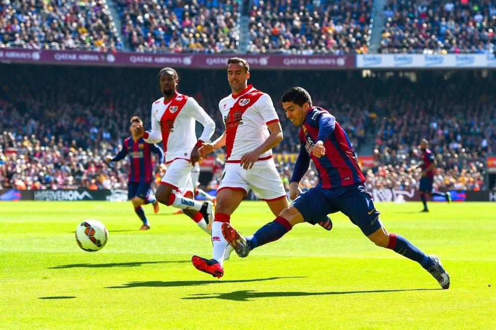 Suarez đang ghi bàn liên tục ở các trận đấu của Barcelona