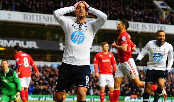 Soldado đang bị Tottenham hét giá quá cao