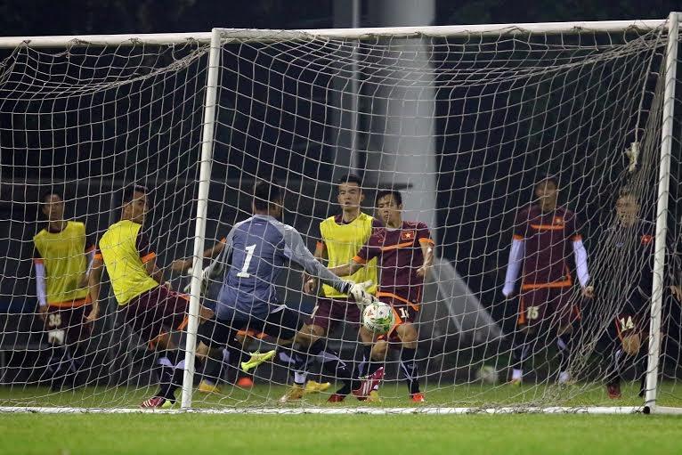 Đội tuyển Việt Nam vẫn còn cả trận lượt về để phấn đấu - Ảnh: Gia Hưng