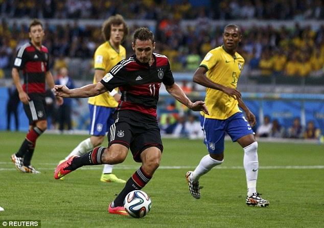 Klose là chân sút xuất sắc nhất trong lịch sử các kỳ World Cup