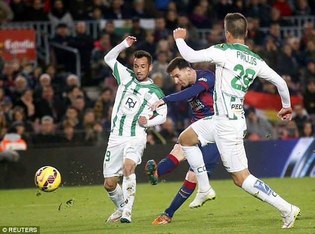 Lionel Messi đang là chân sút hay nhất trong lịch sử Champions League