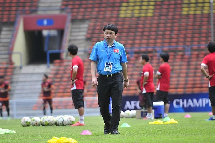 TTK Lê Hoài Anh cho biết sẽ không treo thưởng cụ thể cho U23 Việt Nam