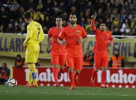 Barcelona luôn chơi hay mỗi khi có bàn thắng dẫn trước