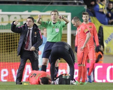 Tiền vệ quan trọng của Barca sẽ phải nghỉ thi đấu dài ngày