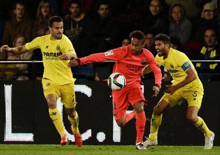 Neymar chính là người chơi hay nhất bên phía Barcelona