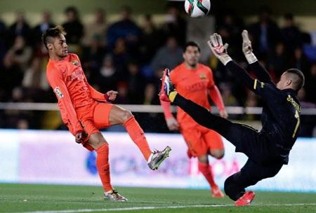 Neymar ấn định thắng lợi 3-1 cho Barca ở phút 88