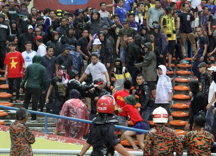 HLV Malaysia không biết vụ CĐV Việt Nam bị hành hung trên khán đài - Ảnh: Gia Hưng
