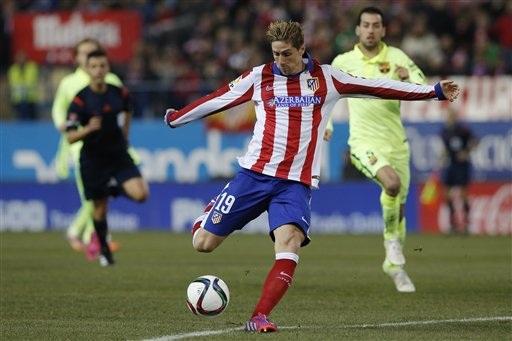 Torres đang chơi thành công trong ngày trở lại Atletico