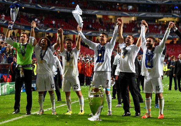 Ronaldo cùng Real Madrid giành danh hiệu Champions League 2014