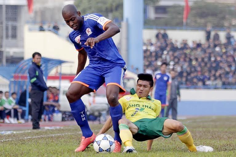Quảng Ninh đang khởi đầu ấn tượng tại V-League - Ảnh: Gia Hưng