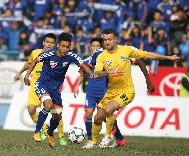 Than Quảng Ninh thất bại trên sân nhà - Ảnh: Gia Hưng