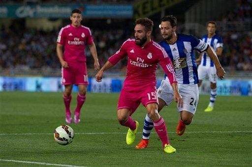 Real Madrid đã thua đau đớn Sociedad 2-4 ở lượt đi tại Anoeta