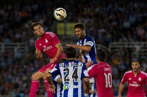 Không Ronaldo, Bale là cầu thủ được Real kỳ vọng nhiều nhất để phục hận Sociedad