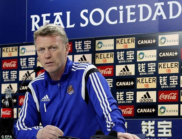 David Moyes tự tin trước cơ hội Sociedad tạo bất ngờ trước Real Madrid