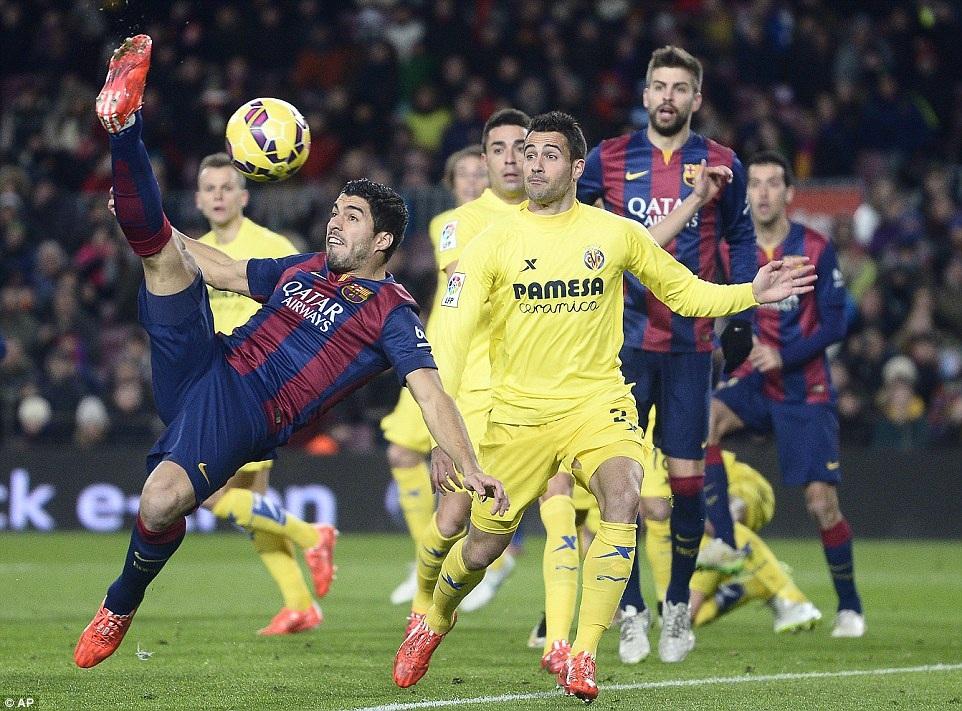 Suarez đã tìm lại được cảm giác ghi bàn trong màu áo Barcelona