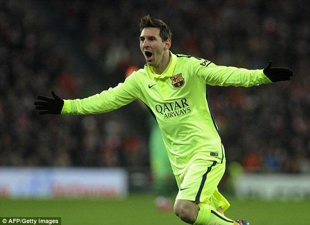 Messi khai thông thế bế tắc cho Barcelona