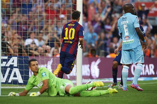 Messi luôn biết cách tỏa sáng khi Barca gặp Granada