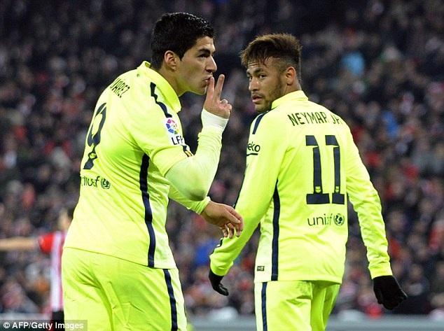 Luis Suarez lập công sau nhiều trận đấu chơi vô duyên