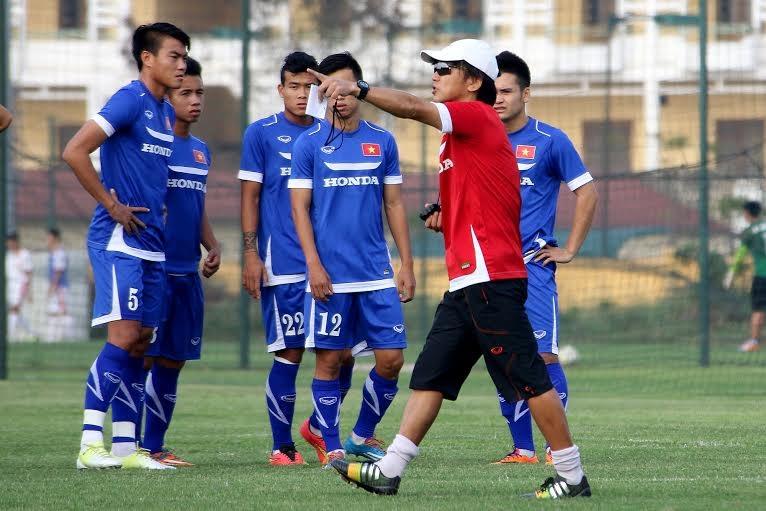 HLV Miura xem trọng mọi mục tiêu của bóng đá Việt Nam trong năm - Ảnh: Gia Hưng