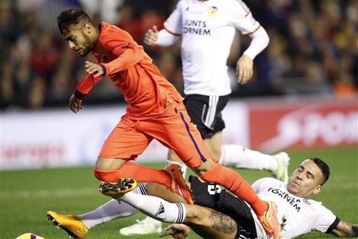 Những cuộc so tài Barcelona-Valencia luôn rất căng thẳng