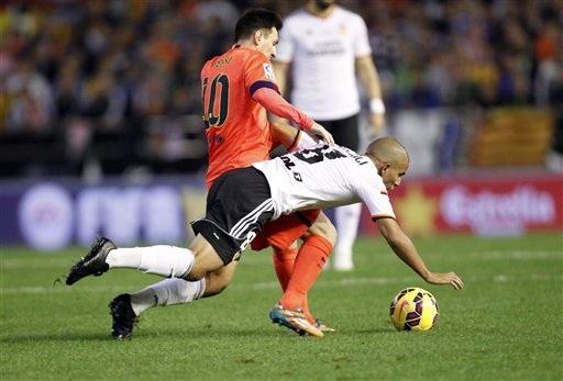 Lionel Messi vẫn là cầu thủ mà hàng thủ Valencia cần dè chừng