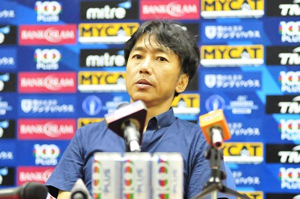 HLV Miura hài lòng với chiến thắng của các học trò