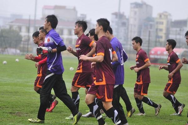 Olympic Việt Nam không được tập đúng giờ quy định