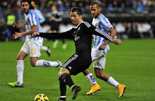 C.Ronaldo vẫn là cầu thủ đáng chú ý nhất tại Bernabeu đêm nay