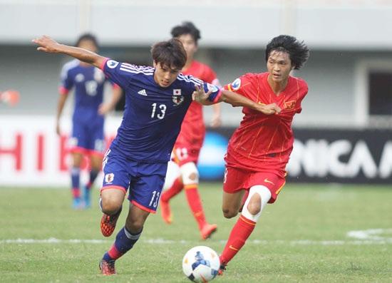 Takumi là cầu thủ đáng chú ý nhất bên phía U23 Nhật Bản