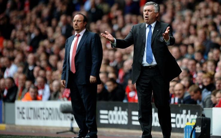 Nhiều khả năng Benitez sẽ thay thế Ancelotti dẫn dắt Real