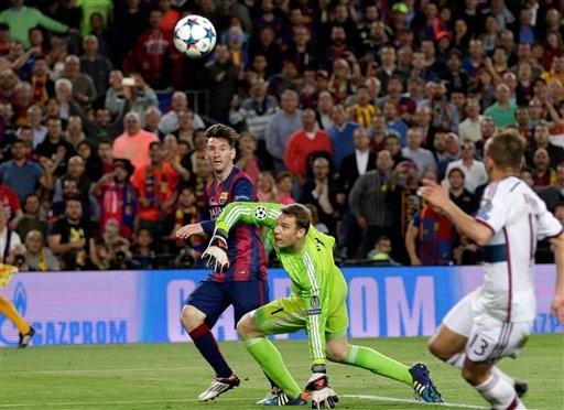 Tài năng của Messi đã nhấn chìm Bayern Munich ở Nou Camp