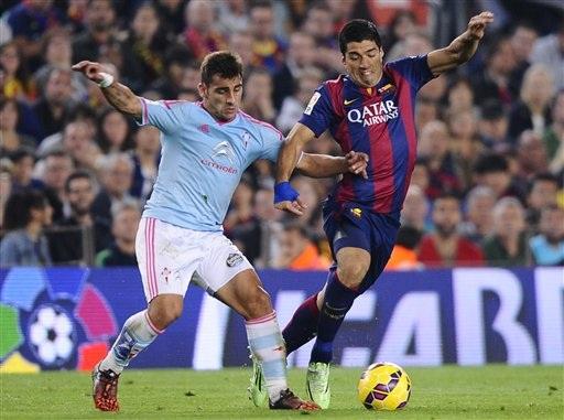 Luis Suarez đang được kỳ vọng sẽ tỏa sáng trước Celta Vigo đêm nay