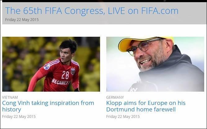 FIFA quan tâm đặc biệt đến trận đấu Việt Nam - Thái Lan