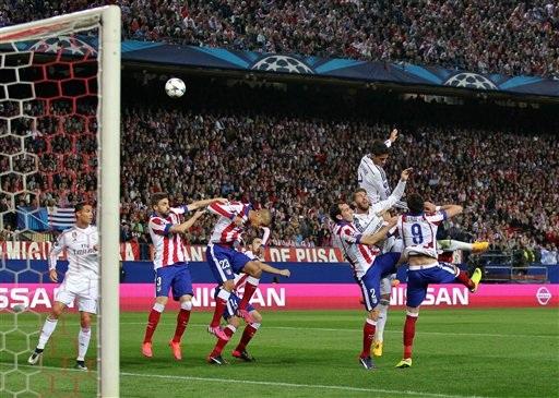 Những cuộc so tài Real-Atletico luôn diễn ra đầy hấp dẫn, căng thẳng
