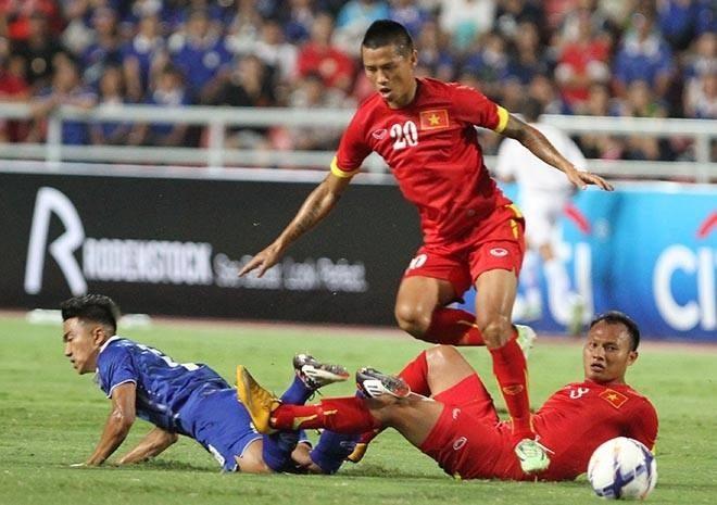ĐTVN đã chơi với tinh thần rất cao trước Thái Lan - Ảnh: An An