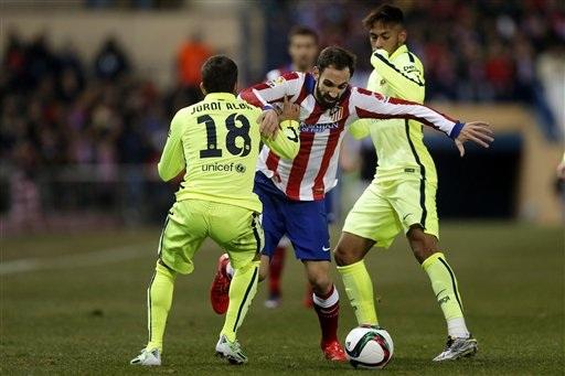 Barca chỉ có trận đấu khó khăn duy nhất với Atletico