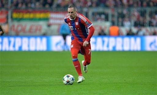Ribery lỗi hẹn ở cuộc so tài với Dortmund