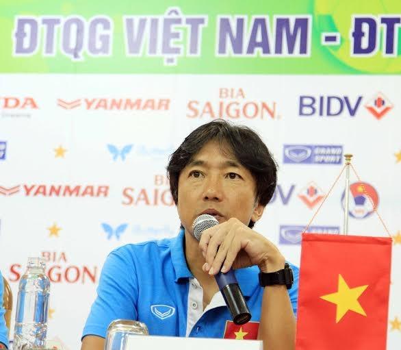 HLV Miura tin tưởng vào sức mạnh của đội tuyển Việt Nam - Ảnh: Gia Hưng