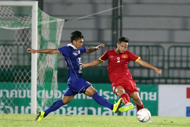 Đội tuyển Việt Nam quyết tâm giành chiến thắng trước người Thái - Ảnh: Gia Hưng