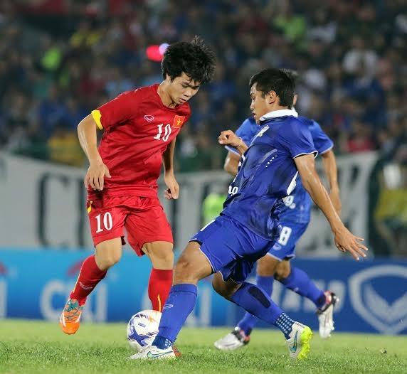 Công Phượng và đồng đội từng thua Thái Lan ở trận giao hữu trước thềm U23 châu Á - Ảnh: Gia Hưng