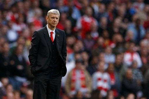 Wenger lo lắng khả năng Arsenal tụt xuống thứ 4