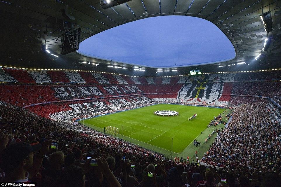 Sân Allianz Arena chờ đợi một cuộc phục hận ngọt ngào của Bayern Munich