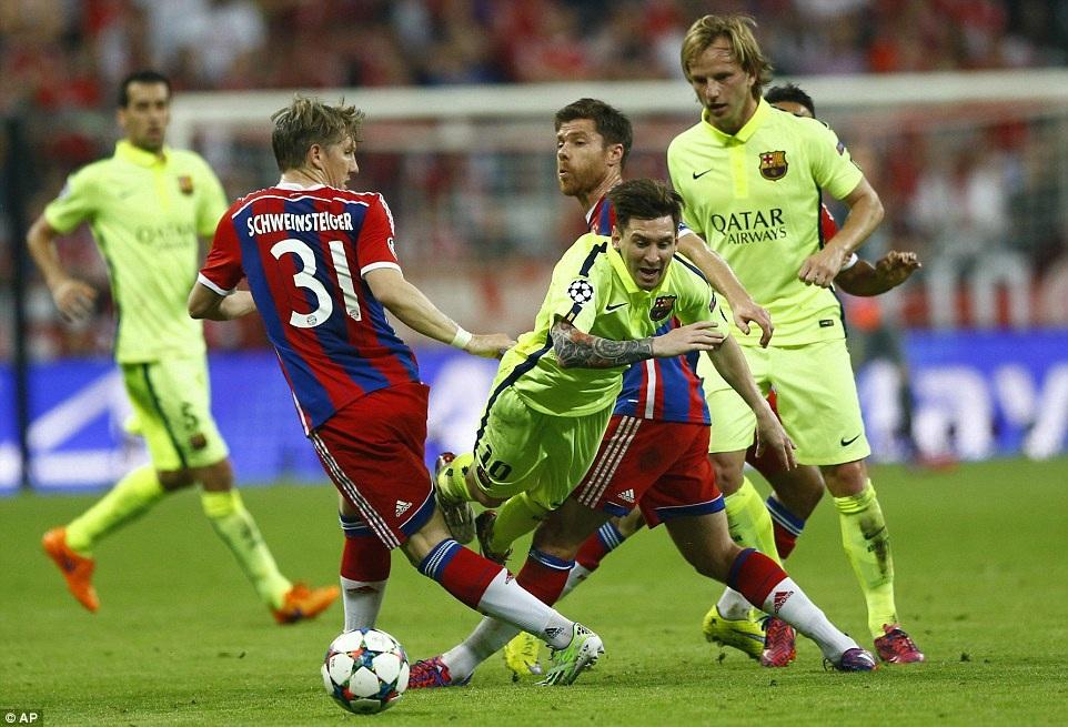 Bayern Munich dành sự quan tâm đặc biệt đến Lionel Messi