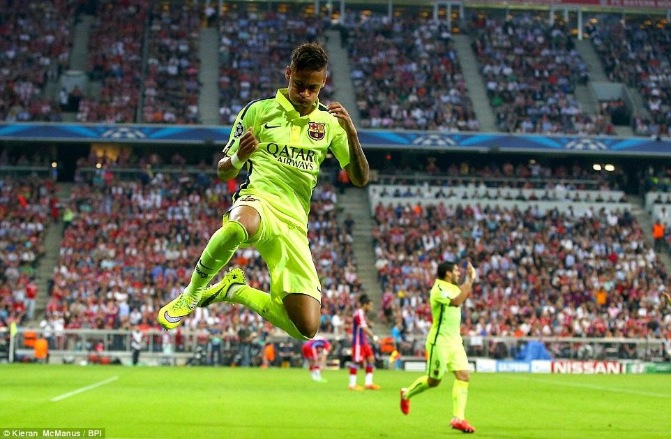 Neymar đã chói sáng...