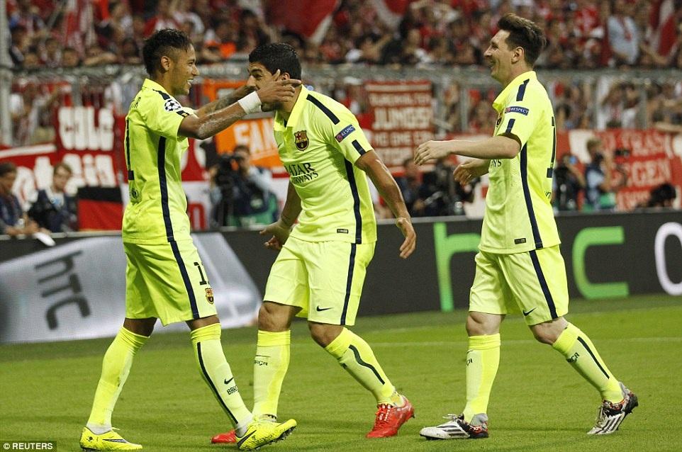 Nhưng cú đúp của Neymr đã giúp Barca giành vé vào chung kết Champions League