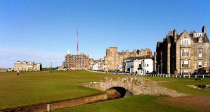 St. Andrews Scotland – quê hương của môn thể thao Golf