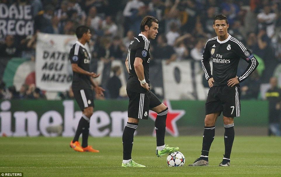 Real Madrid chơi có phần lạc nhịp ở những phút đầu trận