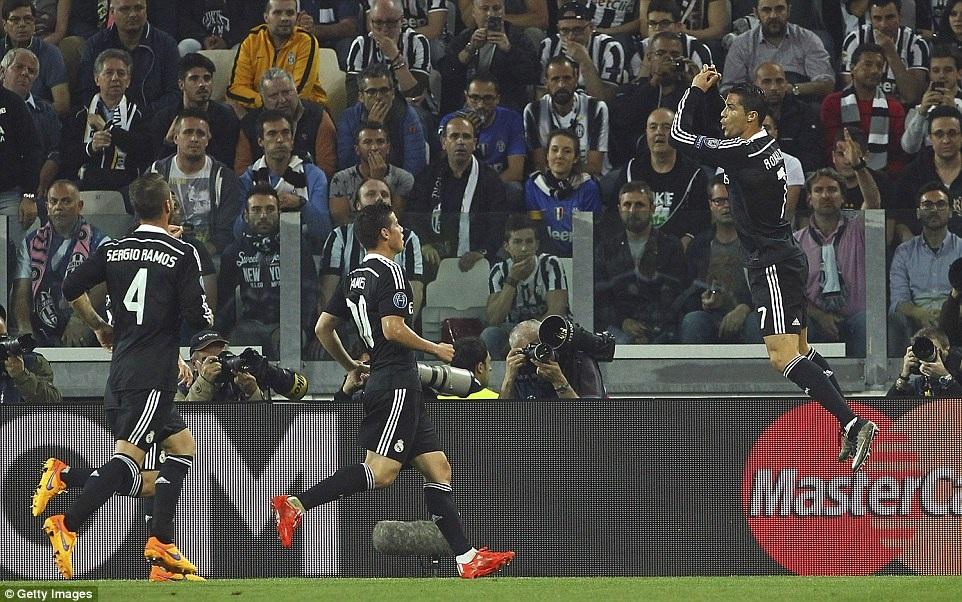Niềm vui của C.Ronaldo