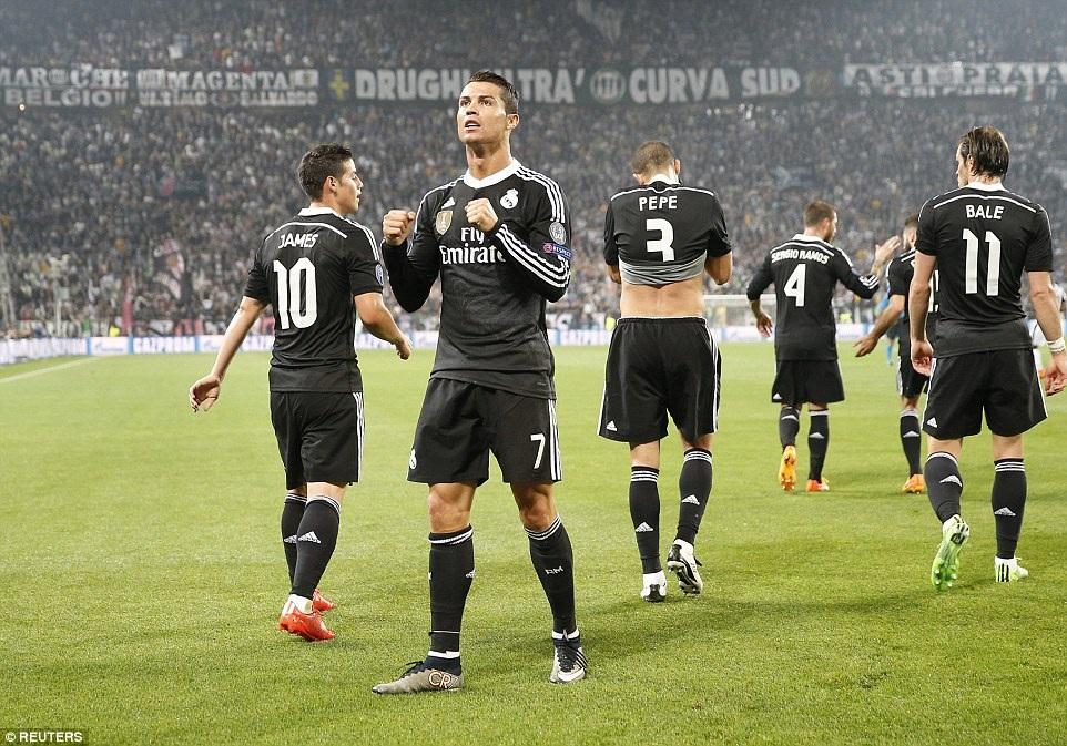 C.Ronaldo đã có 76 bàn thắng ở Champion League